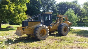 '03 648 G3 John Deere Grapple Log Skidder