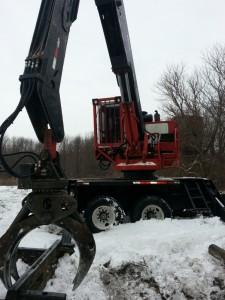 '04 28000 Hood Log Loader w-Slasher Saw